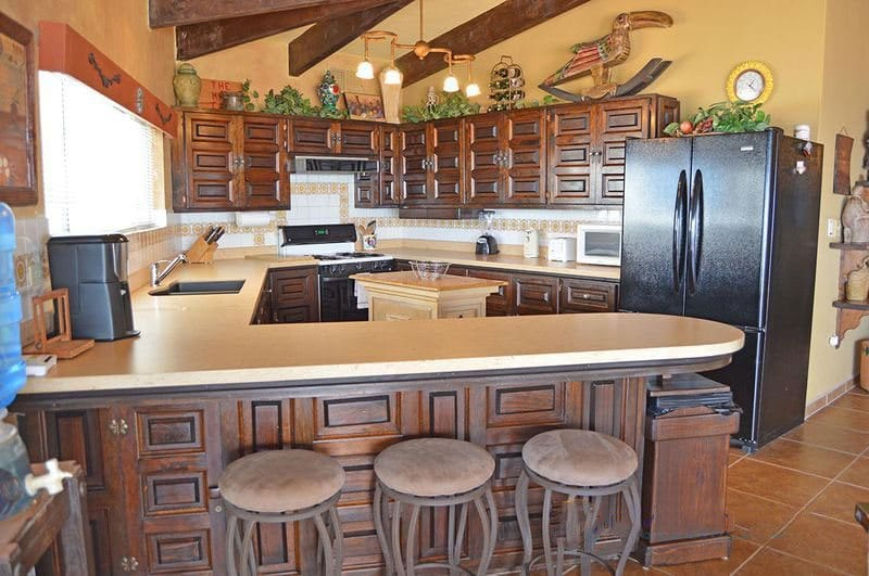 Rocky Point Las-Conchas-Puesta-Del-Sol-Kitchen-Front-View