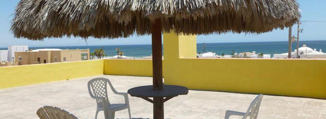 Rocky Point Las-Conchas-Casa-Amarilla-Upper-Floor-Patio-View
