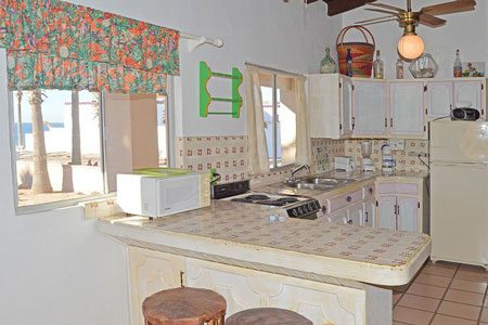 Rocky Point las-conchas-casita-chapman-kitchen-view