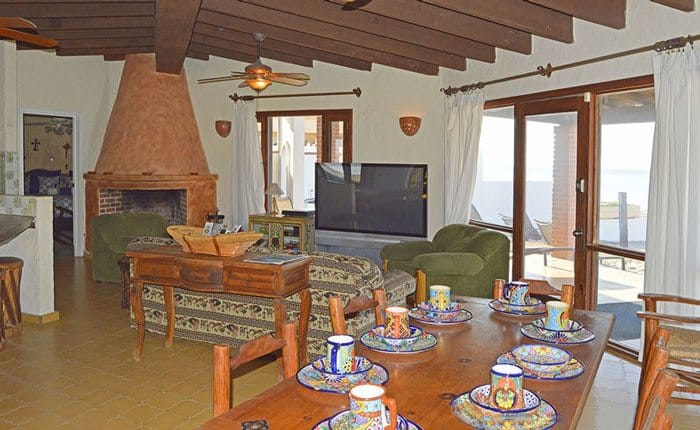 rocky-point-house-rental-agaves-del-mar-dining-living-room
