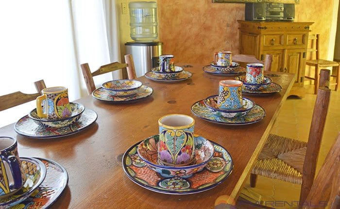 rocky-point-house-rental-agaves-del-mar-dining-table