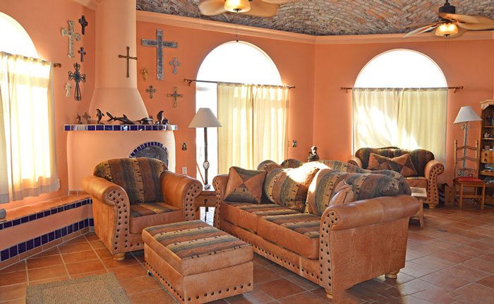 rocky-point-house-rental-casa-azul-mariposa-living-room