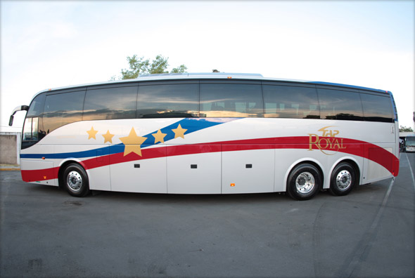 Buses from Phoenix to Puerto Penasco tap royal
