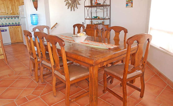 Rocky-Point-House-Rental-Casa-Del-Sol-dining-table