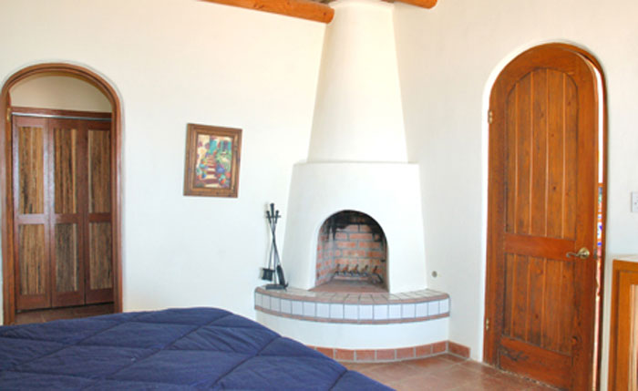 Rocky-Point-Las-Palapitas-Bedroom-2-with-fireplace