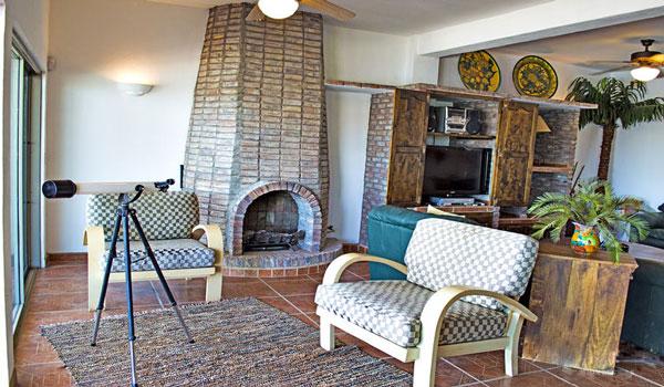 rocky-point-house-rental-casa-medusa-fireplace