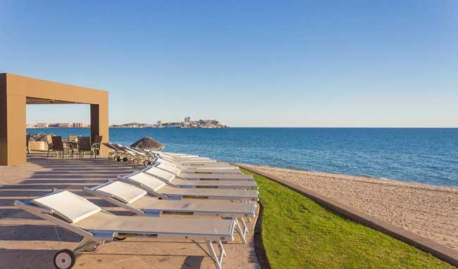 Las Palomas Rocky Point Rentals Beach Lounge Chairs
