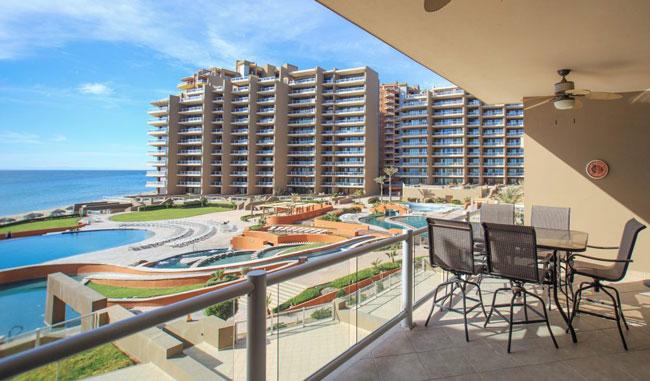 Las Palomas Rocky Point Rentals Condo Balcony
