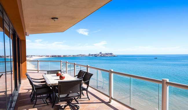 Las Palomas Rocky Point Rentals Ocean Front View