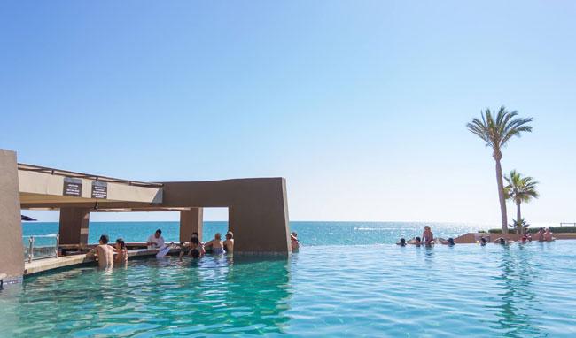 Las Palomas Rocky Point Rentals Swim Up Bar