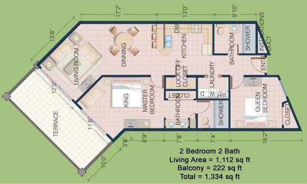 Casa-Blanca-Rocky-Point-Two-Bedroom-Condo