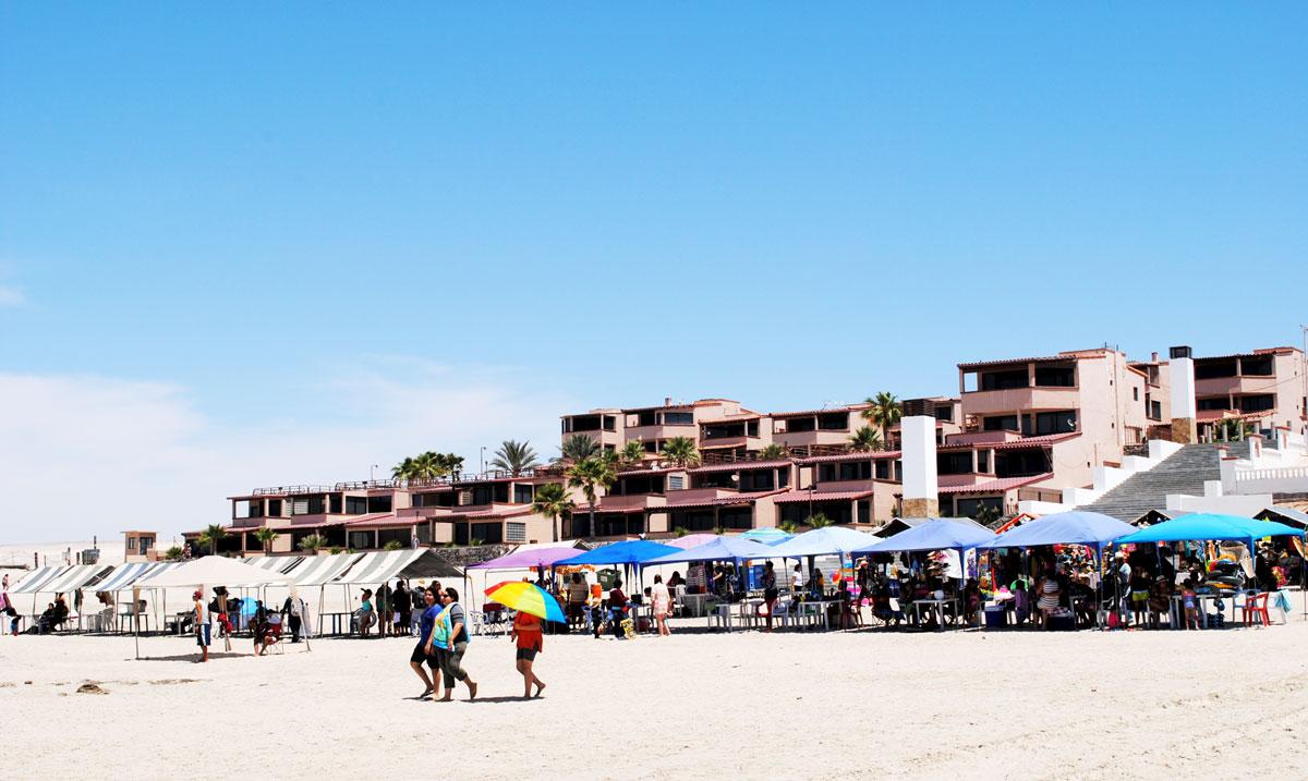 Las-Gaviotas-Rocky-Point-Beach-Vendors